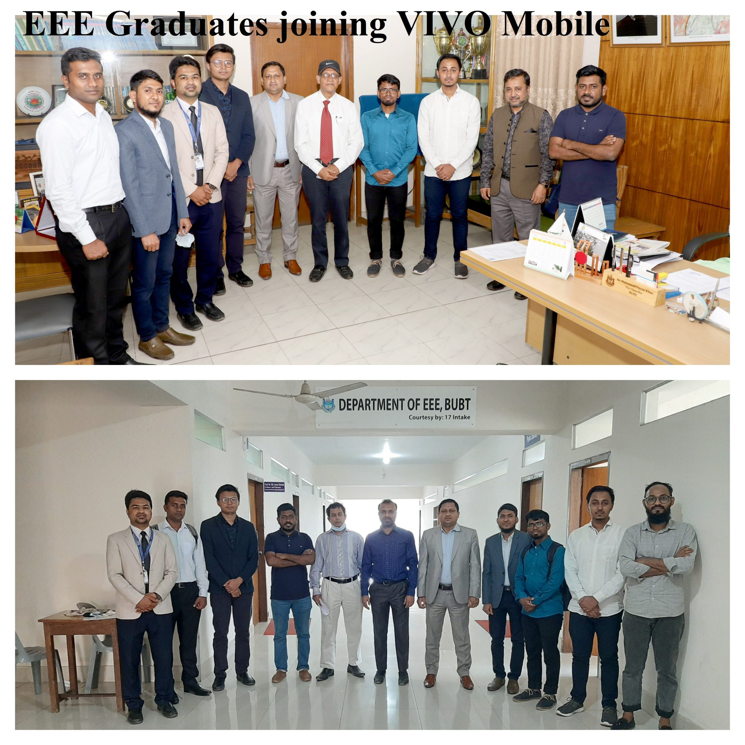 EEE Graduates joining VIVO Mobile