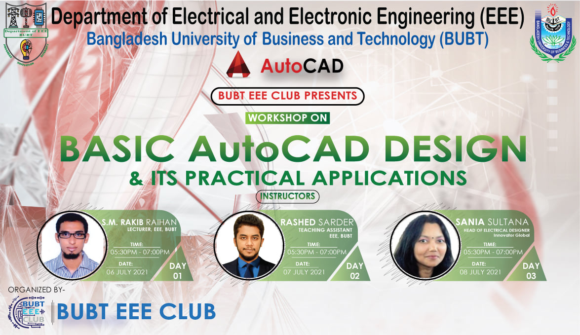 Basic AutoCad Design and Its Practical Application