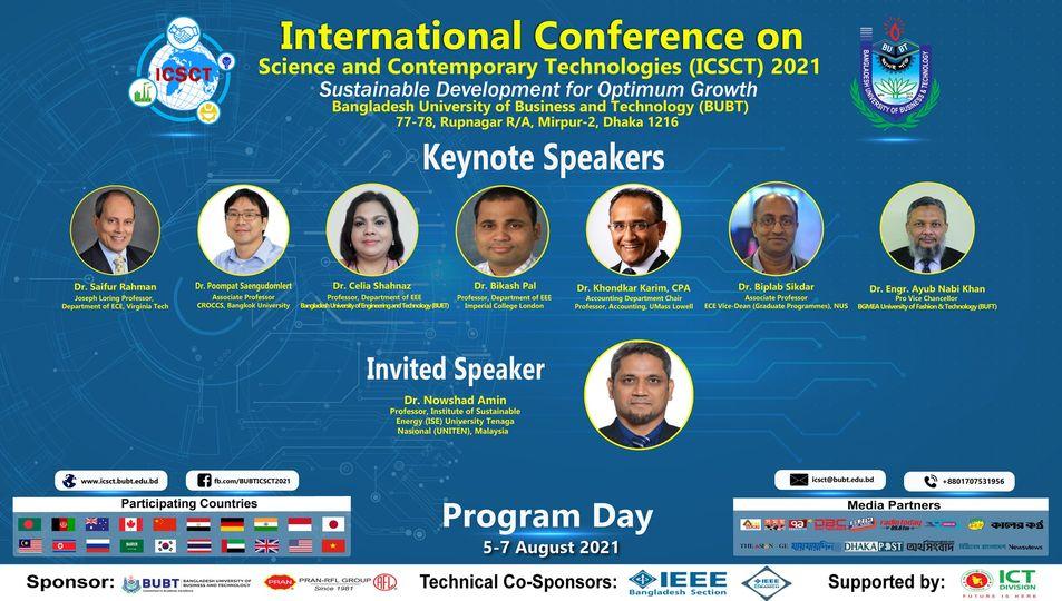 Research Talks in ICSCT 2021