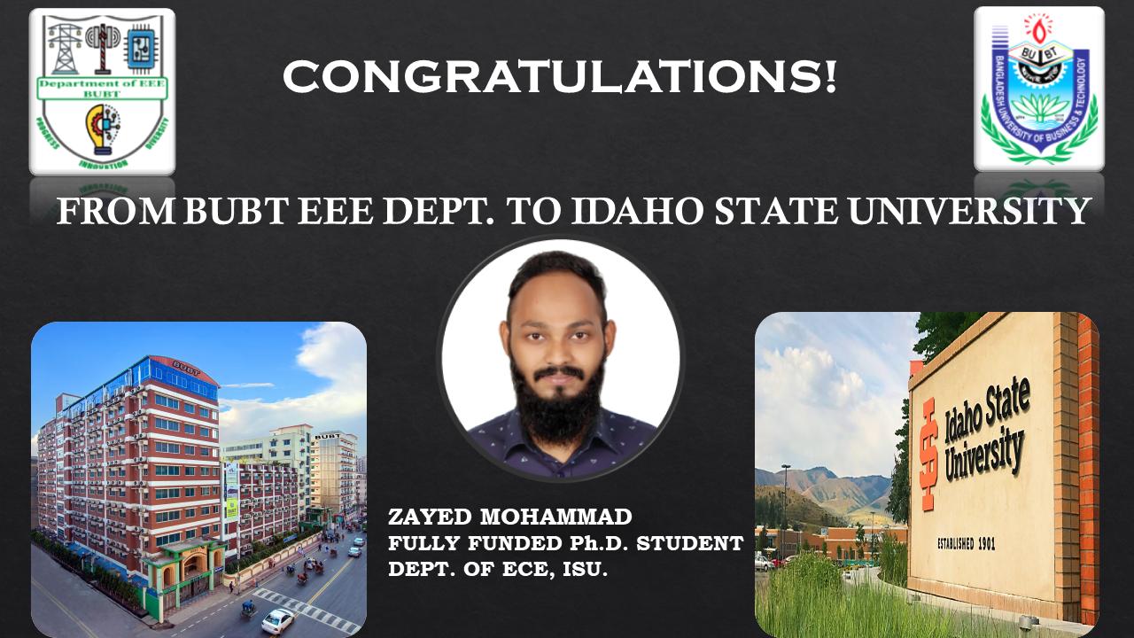 Achievement of EEE Graduate